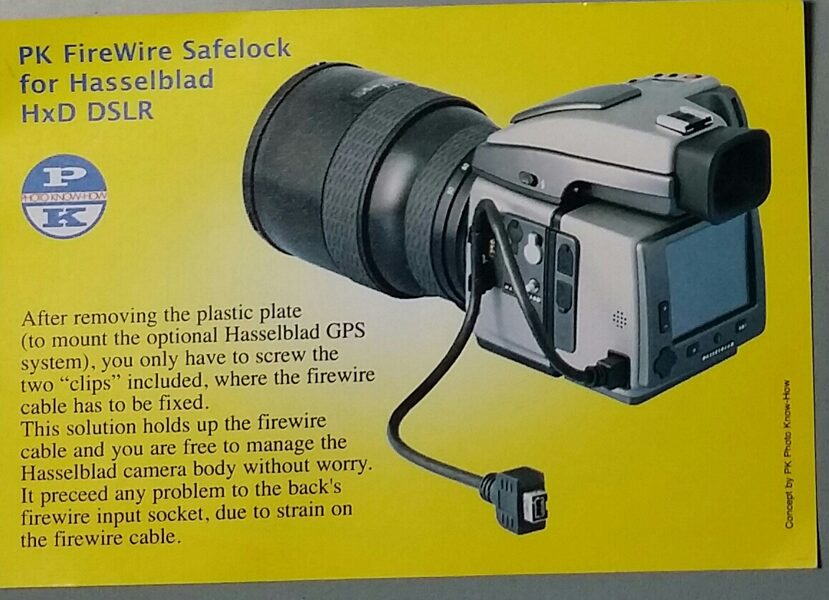 SafeLock per Hasselblad H