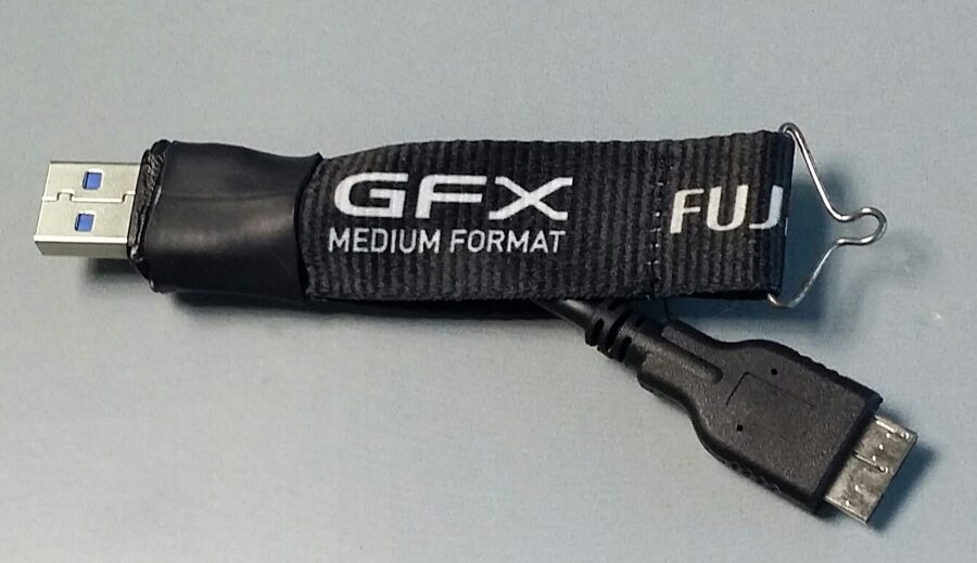 FUJI GFX security cable